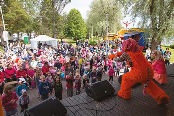 Alavus Rysköillä on hauskaa ohjelmaa lapsille